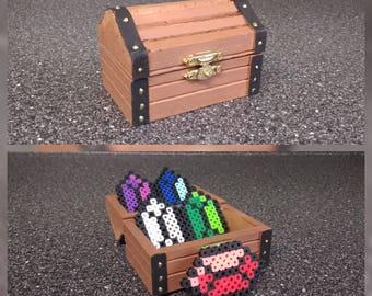Zelda treasure chest with jewels!