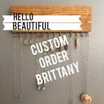Custom Order, Jewelry Organizer Wall, Jewelry Organizer, Jewelry Storage, Earring Holder, Necklace Holder, Wall Jewelry Display
