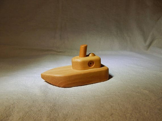 Wood toy ship Boat wooden Baby bath waldorf toys Gift for   Etsy