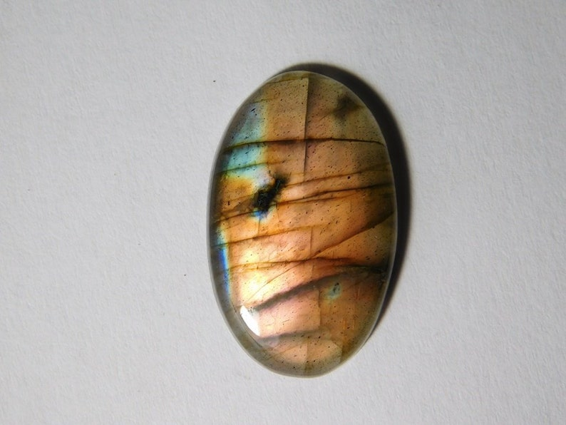 Handmade Labradorite Cabochons Spectrolite Loose Flasy Spectrolite Gemstone 24 Cts.D-3897 Top Flax Labradorite Multi color gemstone