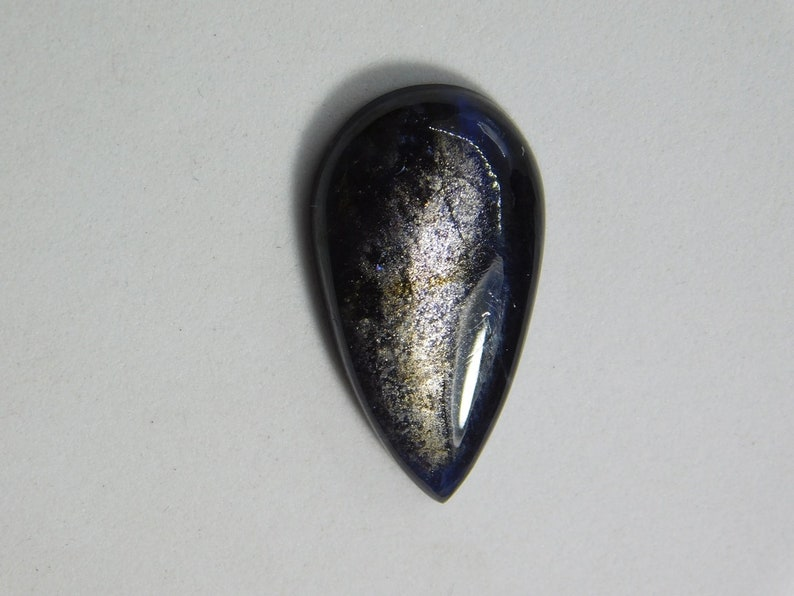 D-8560 Iolite Sunstone Cabochon Top Quality! Natural Iolite Sunstone Gemstone Beautiful Iolite Sunstone Loose Stone Hand Polished 12 Cts