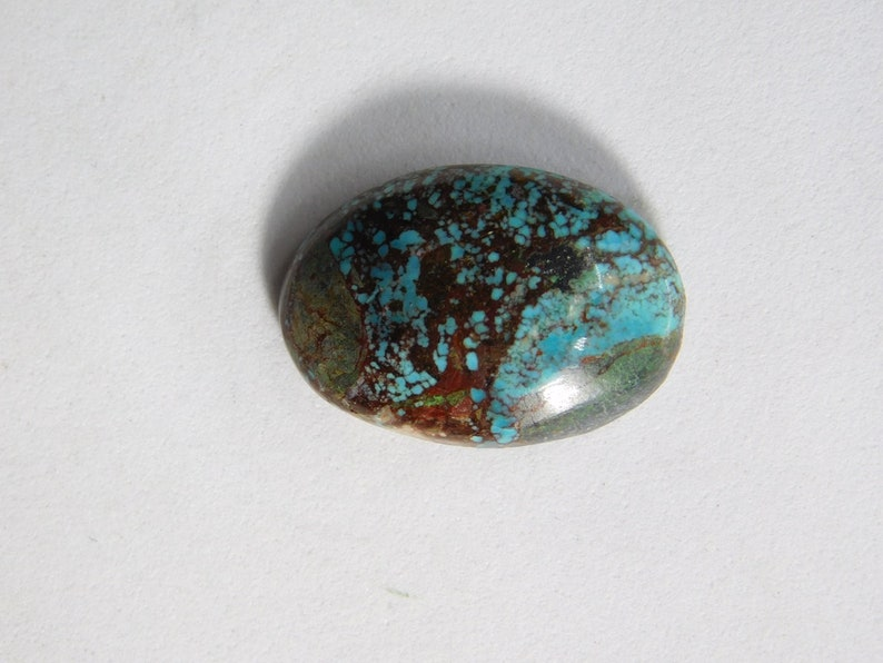 D-8727 Tibet Turquoise Cabochon Natural Tibet Turquoise Gemstone Gorgeous ! Tibet Turquoise Hand made loose stone for jewelry making 10 Ct