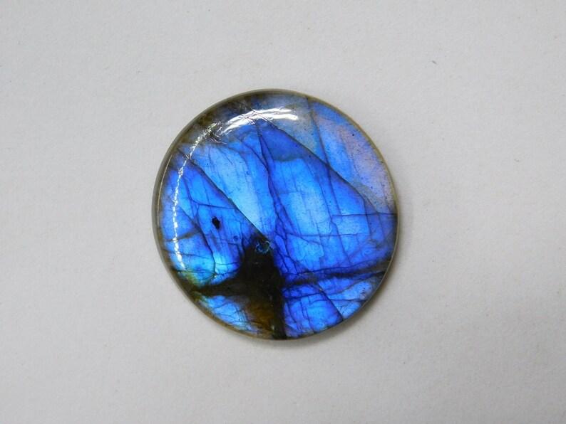 Loose Labradorite Cabochon Blue Flash Large Oval