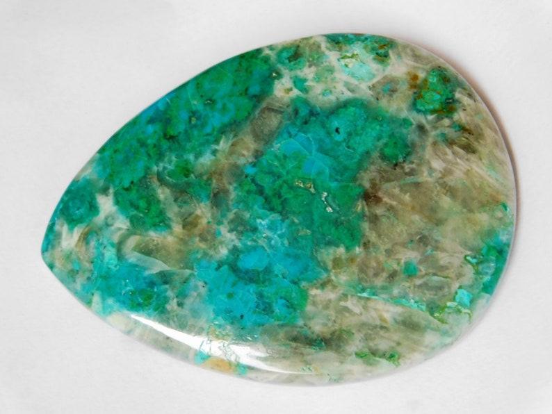 High Quality 100/%Natural Chrysocolla Cabochon Gemstone Semi Precious Chrysocolla malachite Loose gemstone for jewellery 170 Cts.D-3046