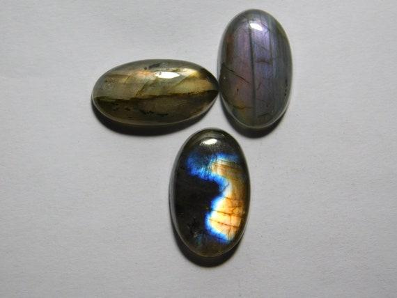 Glorious #7625N Natural Purple Flash Labradorite Gemstone Labradorite Cabochon Spectrolite Labradorite loose gemstone for jewellery 50 Cts