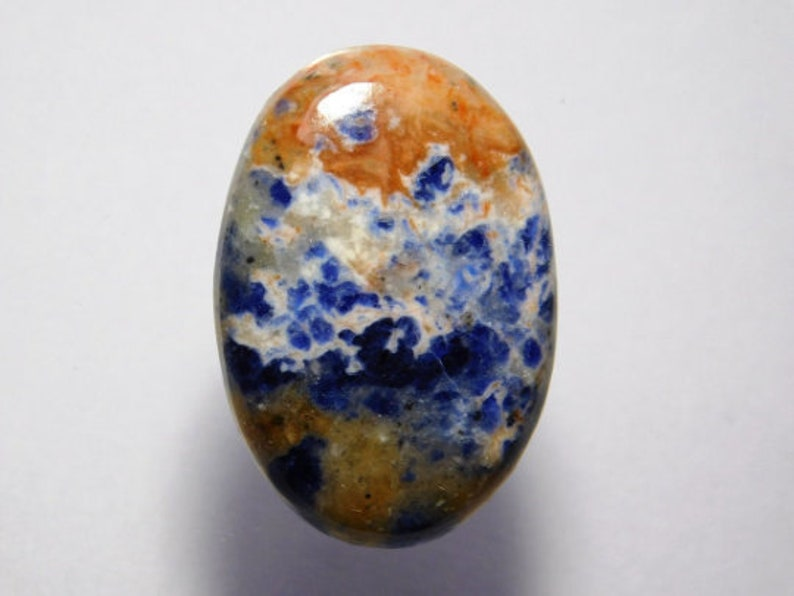 100/% Natural Sodalite cabochon gemstone Sodalite For jewellery 29 Cts D-3251 Blue sodalite loose gemstone Top handmade Sodalite stone
