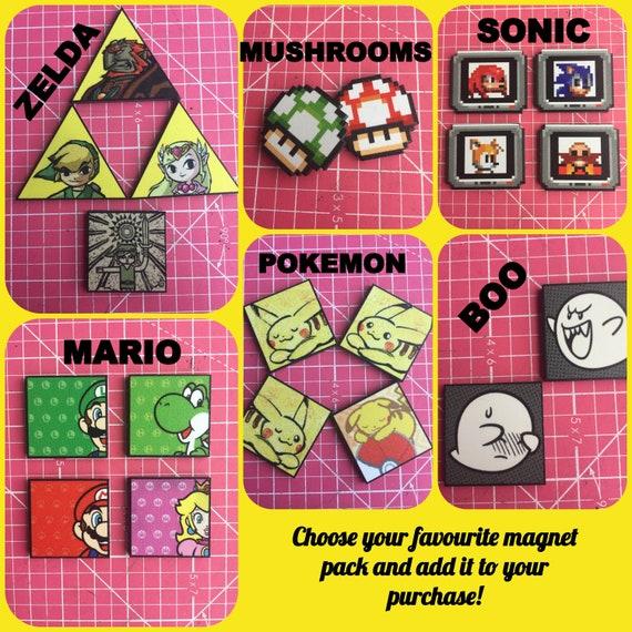 10 Piezas-Artesanía Super Mario y sus amigos elaboración de Tarjetas Toppers-die Cut