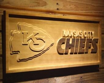 Chiefs Football Sign Etsy