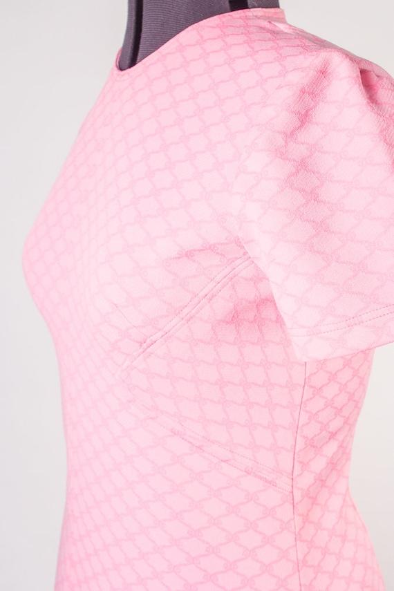 Bubblegum Pink Shift Dress - image 2