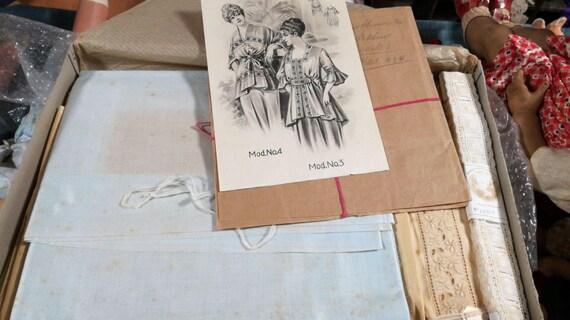 Authentische Box mit Typ Edwardian Schnittmuster für | Etsy
