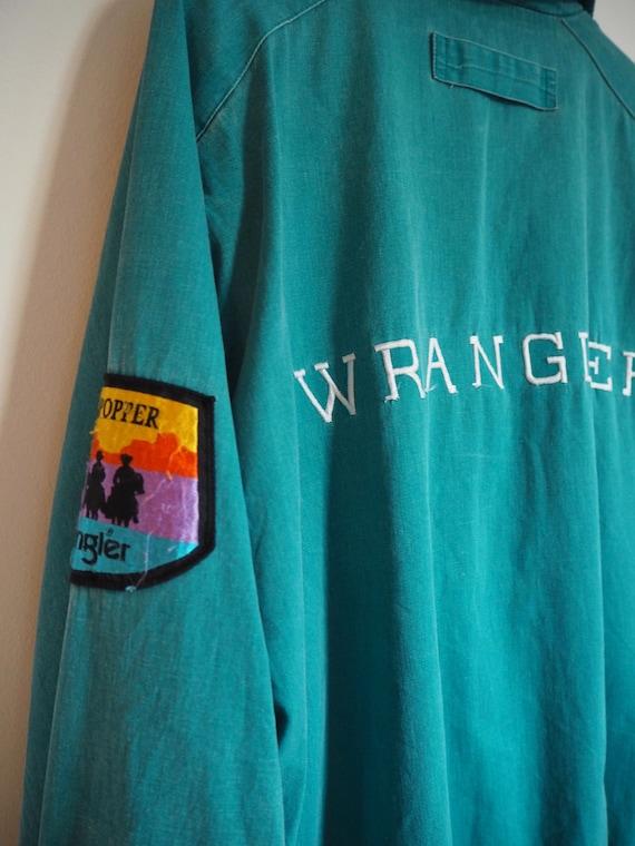 80s Wrangler Bomber Jacket