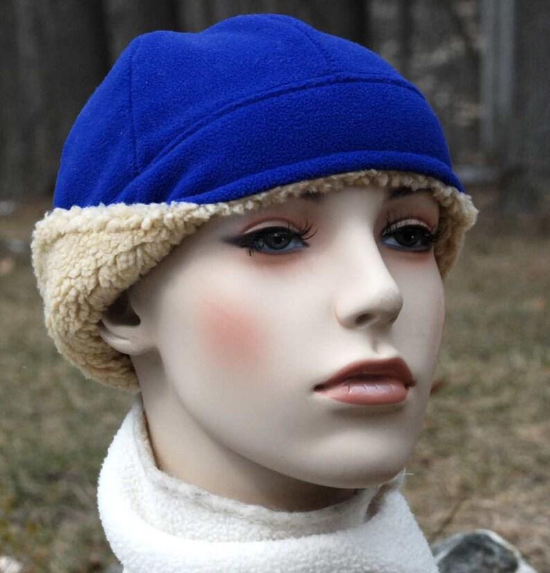 1a6b0a17c PDF polar fleece hat sewing pattern, sewing pattern, Hat with ear warmers,  polar fleece cap sewing pattern