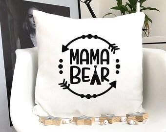 Mama bear pillowcase | Etsy