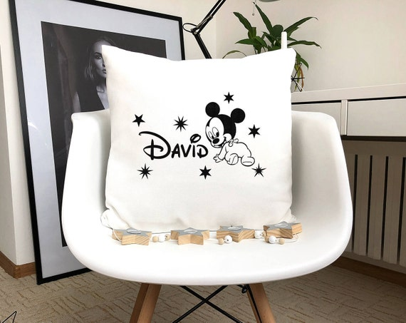 MICKEY MOUSE CUSTOM PERSONALIZED CHILDRENS CHILD PILLOW CASE COVER SLIP