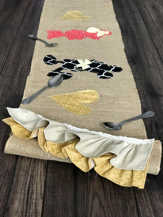 Disney kitchen table runner Ohana means family lilo and stitch disney gift birthday gift for mom mother/'s day gift burlap table runner