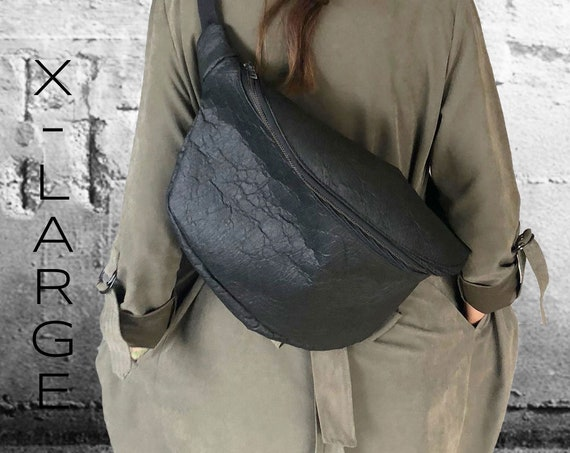 Handbag Belt bag Hip BAG Fannybag Crossover bag made of Pinatex® different sizes and colors Unisex∣BAG#122