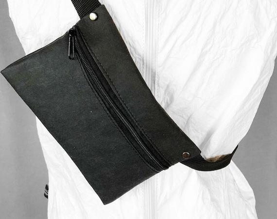 Belt Bag Belly Bag Jacron Minimalist Design Black Gift Unisex | BAG # 113