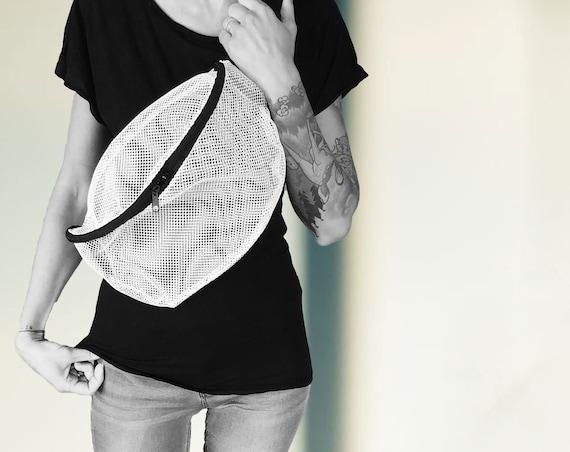 Crossover Bag Belt Bag XL NETZ black or white #122-3