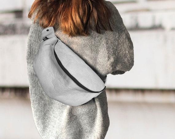 Large handbag belt bag xl crossover bag  PINATEX®  Unisex∣BAG#122