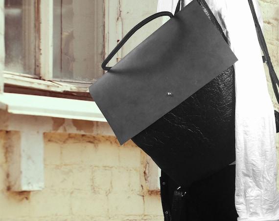 Crossover Bag CLUTCH aus PINATEX®∣13