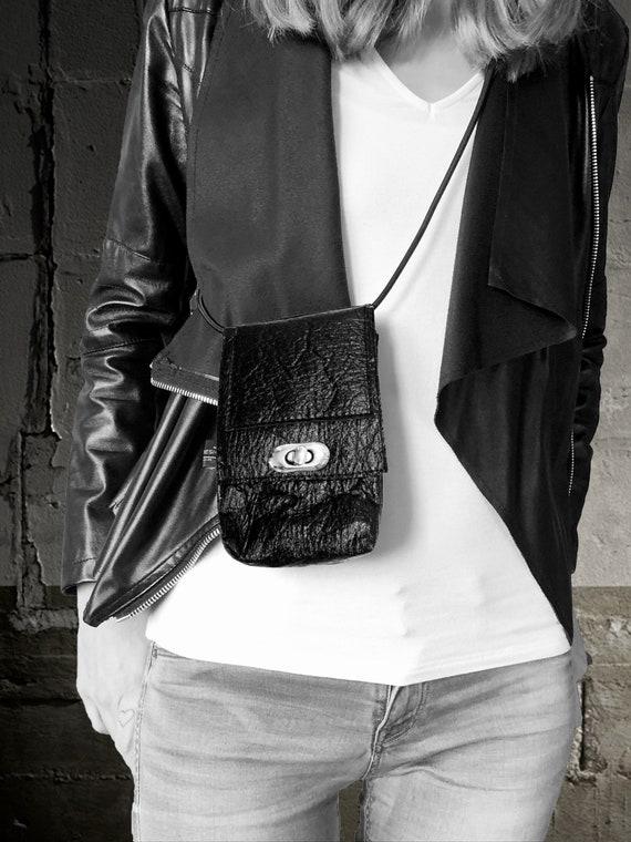 Mobile Phone Purse Wallet Small handbag made of PINATEX®∣BAG#151