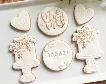 Wedding gift, Wedding biscuits, wedding cookies, edible wedding gift, postal wedding gift, vegan wedding gift
