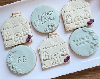 New home gift, new home biscuits, housewarming gift, vegan gift