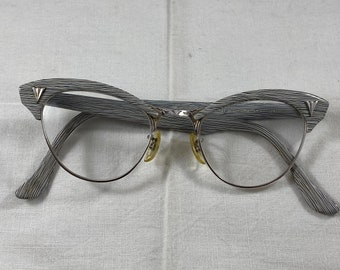 NOUVELLE VAGUE Mod.Mariy vintage glasses 80s  New Old Stock  made in Italy  zebra  oversize  black and white