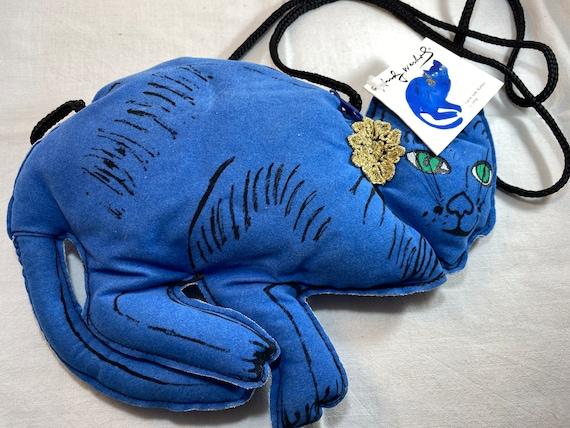 Andy Warhol Blue Cat Purse