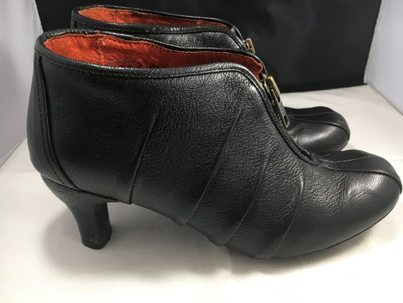 Black Booties By J Shoes Size 6