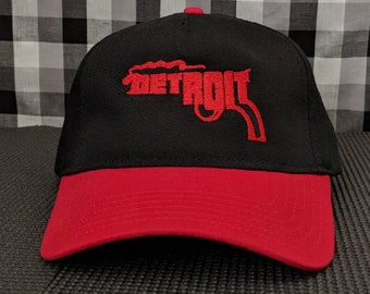 Detroit Gun 5-Panel Curved Bill Two Tone Hat/Cap
