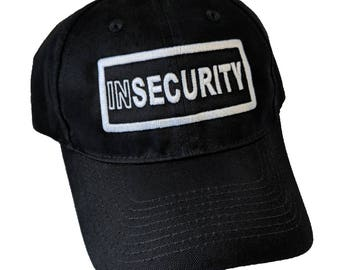 INSecurity Embroidered High Quality Hat/Cap