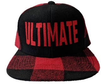ULTIMATE Embroidered Flannel Hat/Cap