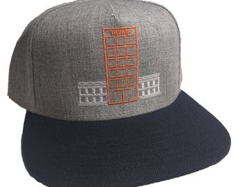 Trump White House Embroidered 5-Panel Hat/Cap