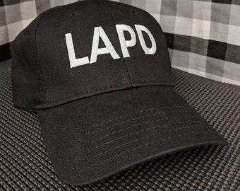 LAPD Embroidered Structured Low-Pro Hat/Cap