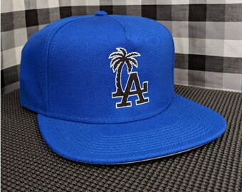 LA Palm Tree Embroidered 5-Panel Cap