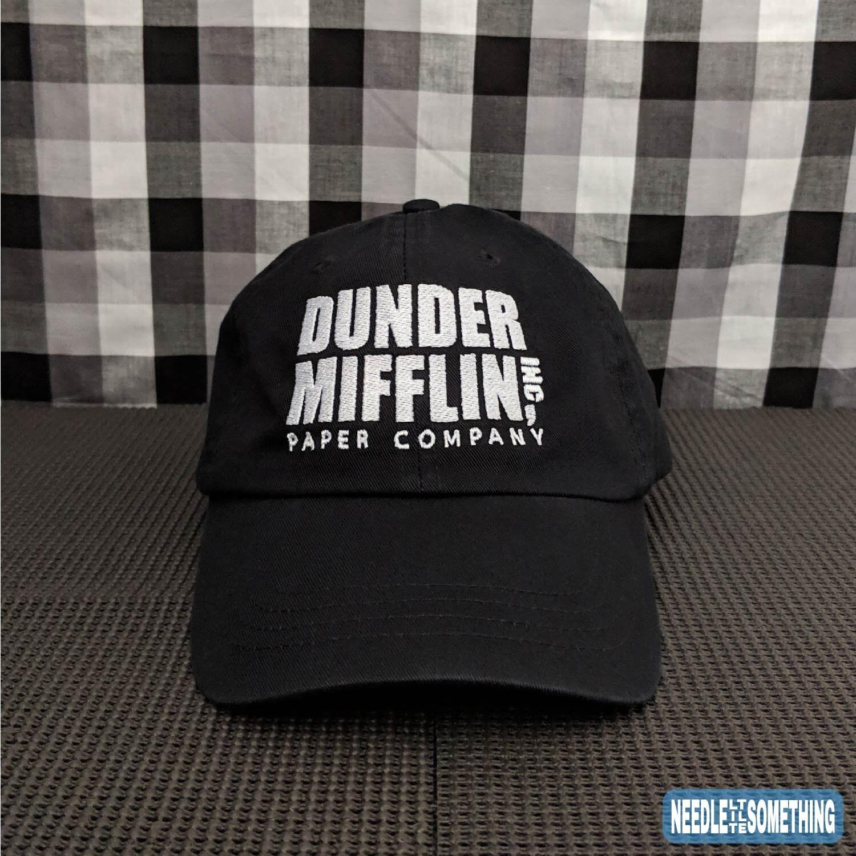 Dunder Mifflin Inc. Paper Company Embroidered Dad Hat Cap  de65d0a8569