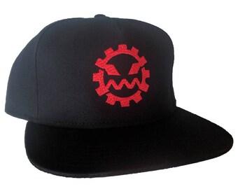 Klokateer Gear Logo Embroidered 5-Panel Cotton Hat