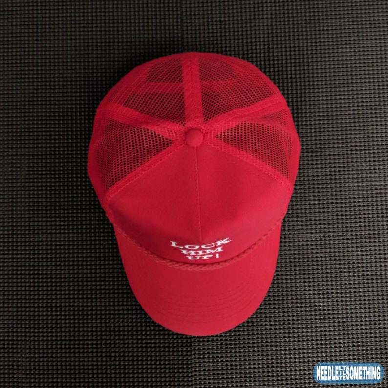 01e1893d128 Lock Him Up Embroidered Classic Mesh-Back Hat Cap
