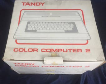 Tandy Color Computer 2 (CoCo2) Original Box and Packaging Material 1983-1986