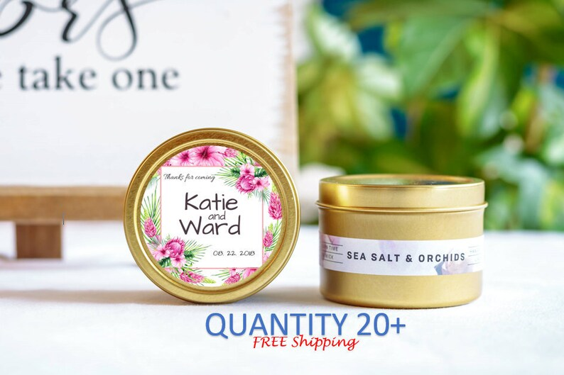 Gift for Guest Personalized Candles Wedding Momento Wedding Favors Candle Wedding Favor Cute Wedding Favors Wedding Guest Favor