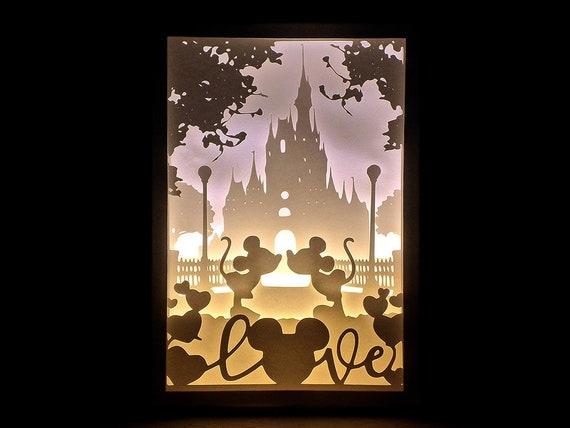Paper Cut Silhouette S...