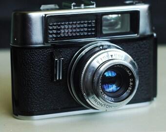 Voigtlander Vito Automatic 1 German 35mm viewfinder film camera - Not working - repairs, stage prop or shelf-queen