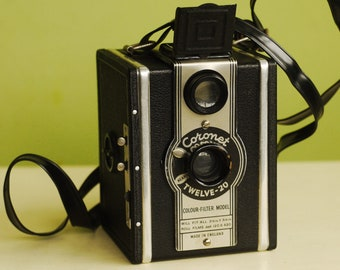 Conway 120 box camera - working, but has a problem...