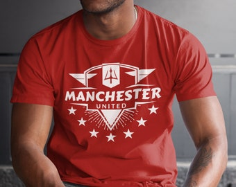 4f9ab0455 Manchester United vector badge t-shirt jersey camiseta
