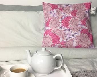 Dahlia Flower Pillowcase