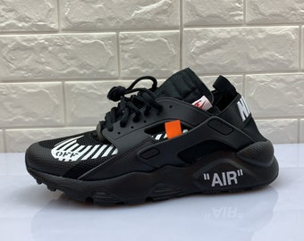 fd54899e6a6b Custom Nike Air Huarache Off White