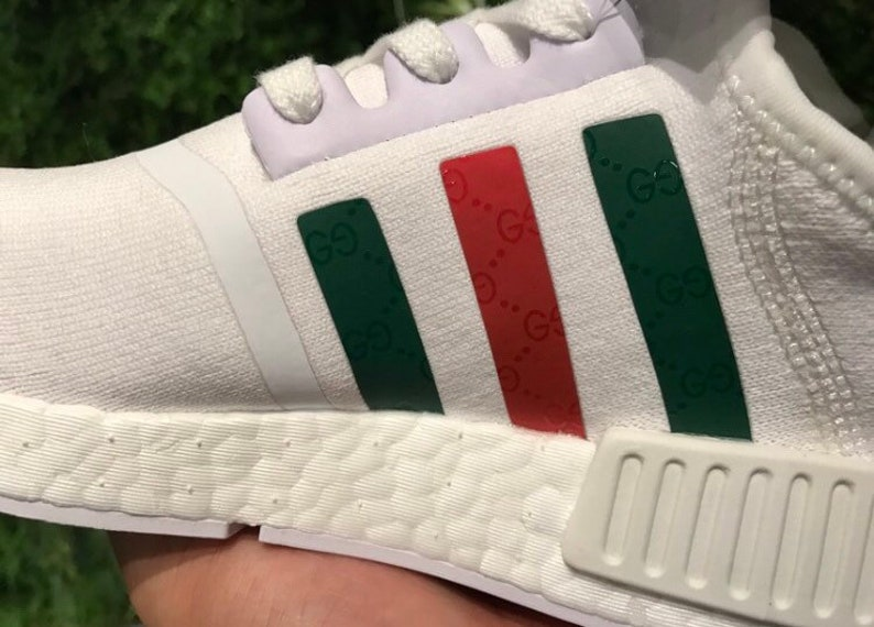 ac21082be Adidas NMD x Gucci Custom Shoes white