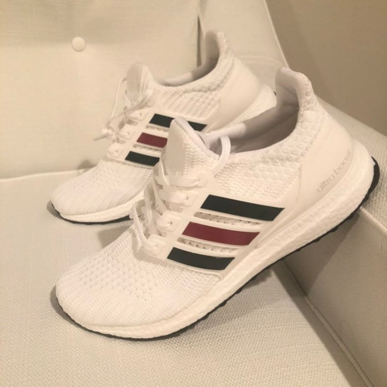 c5c3d0a67 Adidas Ultra Boost Custom Gucci Shoes No Box | Etsy