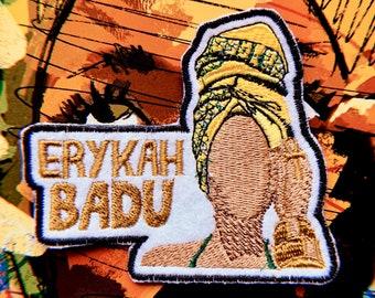 11\u201d Erykah Badu Patch